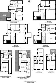 Large floorplan for Chesham Street, Belgravia, SW1X