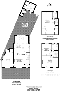 Large floorplan for Cannon Hill Lane, Raynes Park, SW20