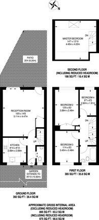 Large floorplan for Parkside Road, Hounslow, TW3