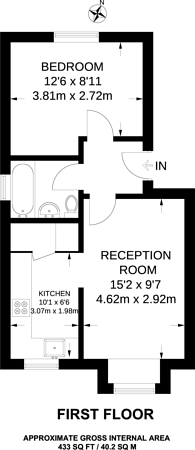 Large floorplan for Gandhi Close, Walthamstow, E17