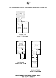 Large floorplan for Garnies Close, Peckham, SE15