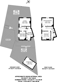 Large floorplan for Southover, Bromley, BR1