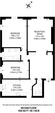 Large floorplan for St James Close, Regent's Park, NW8