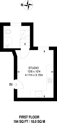 Large floorplan for Hammersmith Grove, Hammersmith, W6