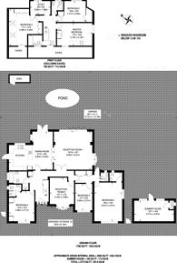 Large floorplan for Royal Avenue, Worcester Park, KT4