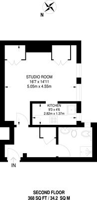 Large floorplan for Jermyn Street, Mayfair, SW1Y
