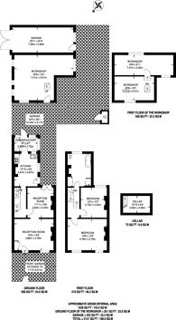 Large floorplan for Choumert Road, Peckham, SE15