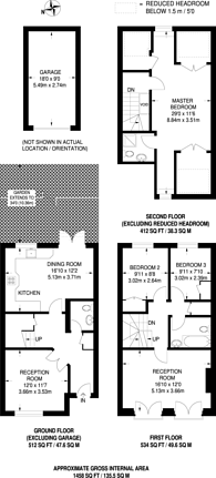 Large floorplan for Bedford Close, Corney Reach, W4
