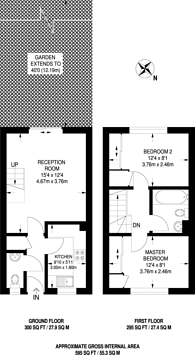 Large floorplan for Forbes Way, Ruislip Manor, HA4