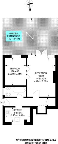 Large floorplan for Truslove Road, West Norwood, SE27