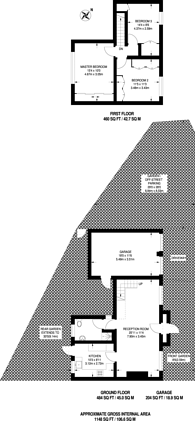 Large floorplan for Hartfield Crescent, Wimbledon, SW19