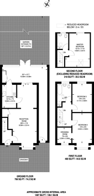Large floorplan for Varley Road, Canning Town, E16
