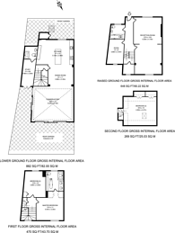 Large floorplan for Northchurch Terrace, Islington, N1
