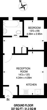 Large floorplan for Jade Close, Beckton, E16