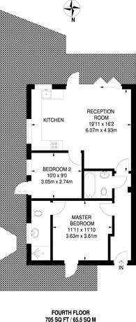 Large floorplan for Wilds Rents, London Bridge, SE1
