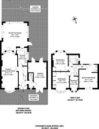 Large floorplan for Ruislip Road East, Ealing, W13