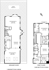 Large floorplan for Springfield Road, St John's Wood, NW8