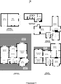 Large floorplan for Wellington Road, Bush Hill Park, EN1