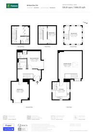 Large floorplan for Naval Row, Poplar, E14