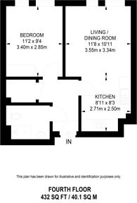 Large floorplan for Dalston Curve, Dalston, E8
