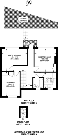 Large floorplan for Macgregor Road, Beckton, E16