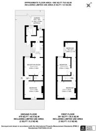 Large floorplan for New Cross Road, Stoughton, GU2