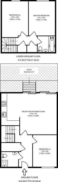 Large floorplan for Orsman Road, Hoxton, N1