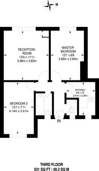 Large floorplan for Pembury Road, Hackney Downs, E5