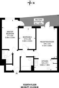 Large floorplan for Stanley Road, Harrow, HA2
