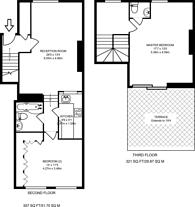 Large floorplan for Girdlers Road, Brook Green, W14