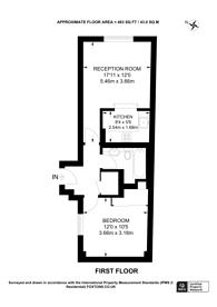 Large floorplan for High Street Kensington, High Street Kensington, W8