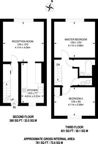 Large floorplan for Mortimer House, Queensdale Crescent, Holland Park, W11