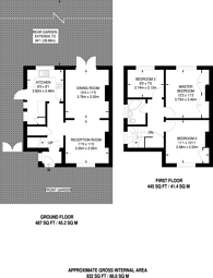 Large floorplan for Dunoon Road, Forest Hill, SE23