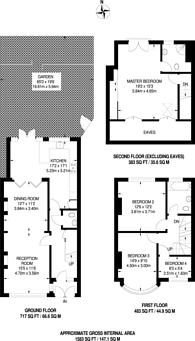 Large floorplan for Waddon Park Avenue, Croydon, CR0
