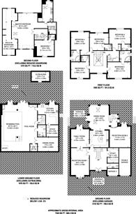 Large floorplan for Spareleaze Hill, Loughton, IG10