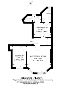 Large floorplan for Old Marylebone Road, Marylebone, NW1