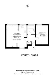 Large floorplan for New Orleans Walk, Archway, N19