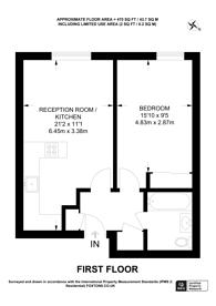 Large floorplan for Wheler Street, Spitalfields, E1