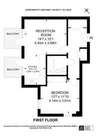 Large floorplan for Brewery House, Twickenham, TW1