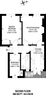 Large floorplan for Fortess Road, Kentish Town, NW5