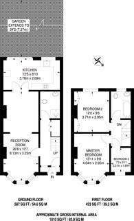 Large floorplan for Dagenham Road, Leyton, E10