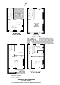 Large floorplan for Quick Street, Angel, N1