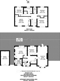 Large floorplan for Tithe Farm Close, Harrow, HA2