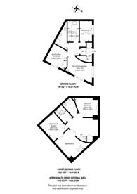 Large floorplan for Marshalsea Road, Borough, SE1