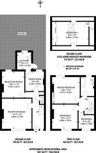 Large floorplan for Semley Road, Norbury, SW16