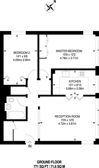 Large floorplan for Church Road, Shortlands, BR2