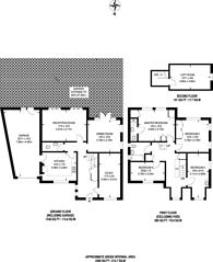 Large floorplan for Kenwood Drive, Beckenham, BR3