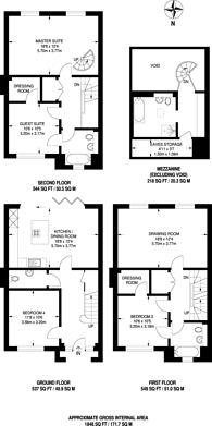 Large floorplan for Imperial Square, North Finchley, N12