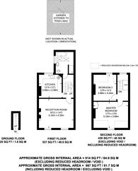 Large floorplan for Freelands Road, Bromley, BR1