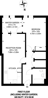 Large floorplan for Stockwell Park Walk, Stockwell Road, Brixton, SW9